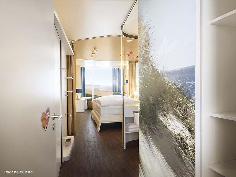 A ja resort warnem nde hotel g ste checken ein hotel for Aja resort warnemunde suite