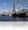 Grosssegler im Stadthafen