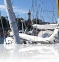 Yachthafen Leuchtturm