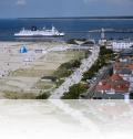Blick über die Strandpromenade