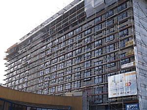 a-ja Resort Warnemünde Baustand 20.10.2012