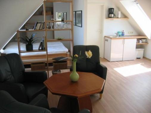 Dachgeschoss-Studio für 2 Personen, Warnemünde