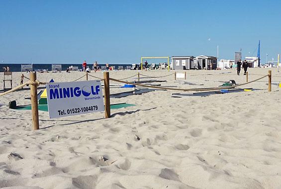 Beachminigolf